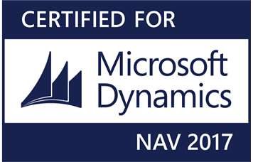 Certified for Microsoft Dynamics NAV 2017-1