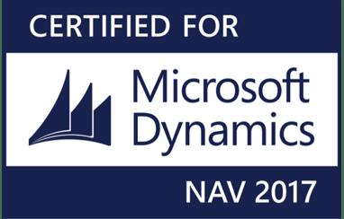 Certified for Microsoft Dynamics NAV 2017-1