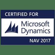 Certified for Microsoft Dynamics NAV 2017